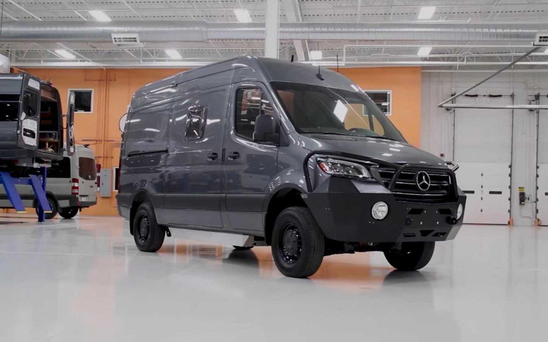 Переобладнання Mercedes-Benz Sprinter 2500 4×4