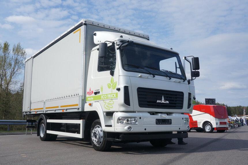 Чергова новинка від МАЗ — нова електровантажівка MAZ-4381EE